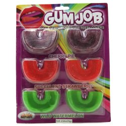 Gum Job: Gummy Candy Teeth Covers sex toy from Hott Products Unlimited.