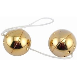Gold Vibro Balls Sex Toy