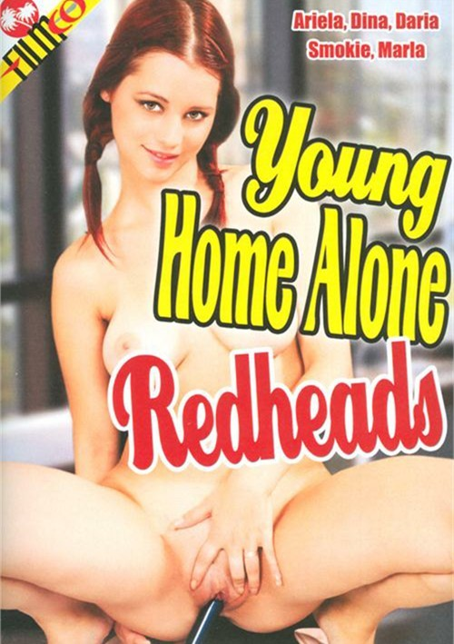 Young redhead streaming video