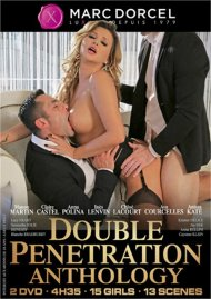 Double Penetration Anthology DVD porn movie from Marc Dorcel.