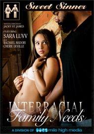 Interracial Family Needs Porn Movie