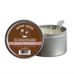 Earthly Body Suntouched Hemp Candle - 6.8oz  - Skinny Dip Sex Toy