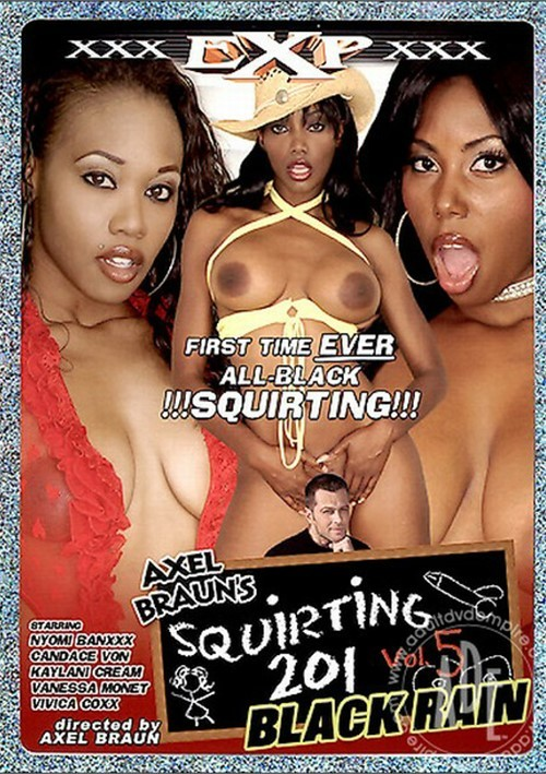 Squirting 201 Vol. 5: Black Rain