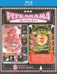 Peekarama: Erotic Adventures of Candy / Candy Goes To Hollywood Blu-ray porn movie.