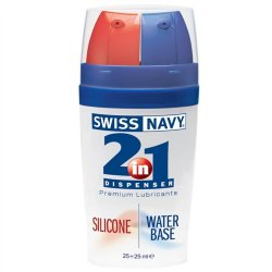 Swiss Navy: 2 In 1 Silicone/Water Sex Toy