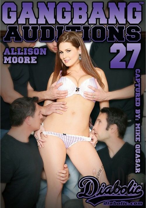 Gangbang Auditions #27 DVD Porn Movie Image.