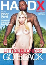 Little Blondes Go Black Porn Video