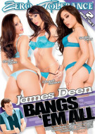 James Deen Bangs 'Em All Porn Video