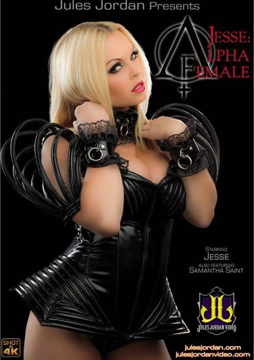 Jesse: Alpha Female DVD Image from Jules Jordan Video.