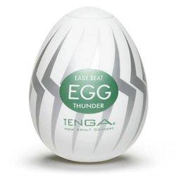 Tenga Easy Beat Egg - Thunder Sex Toy