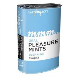 Oral Pleasure Mints - Deep Blue - Numbing Sex Toy