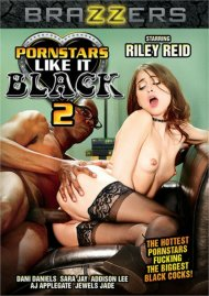 Pornstars Like It Black 2 DVD porn movie from Brazzers.