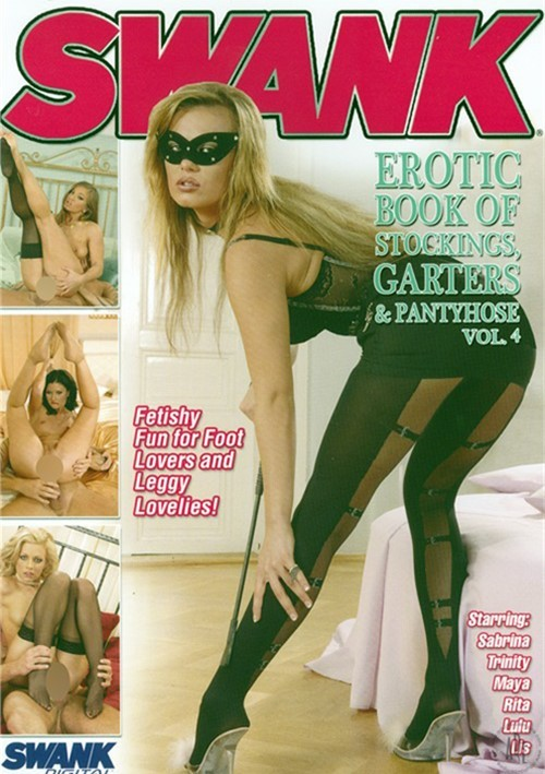 Erotic book of stockings garters