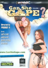 Can She Gape? Porn Movie