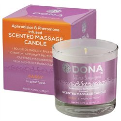 Dona Scented Massage Candle - Tropical Tease - 4.75oz. Sex Toy
