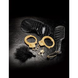 Fetish Fantasy Beginners Fantasy Bondage Kit - Black and Gold Sex Toy