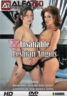 Insatiable Lesbian Angels Porn Video