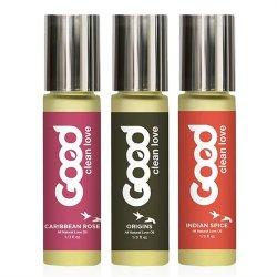 Good Clean Love Oil Sampler 3 pack - 1/3 oz. ea. Sex Toy
