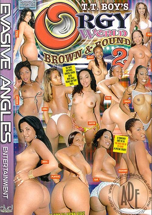 Orgy World: Brown & Round 2 Black All Sex Big Butt