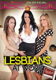 Lesbians At Work: Lipstick Realty DVD porn movie from Forbidden Fruits Films.
