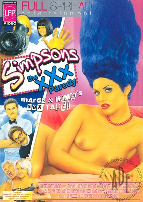 Simpsons The XXX Parody: Marge & Homer's Sex Tape! image