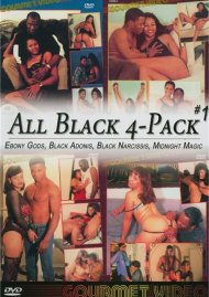 All Black 4-Pack #1 Porn Movie