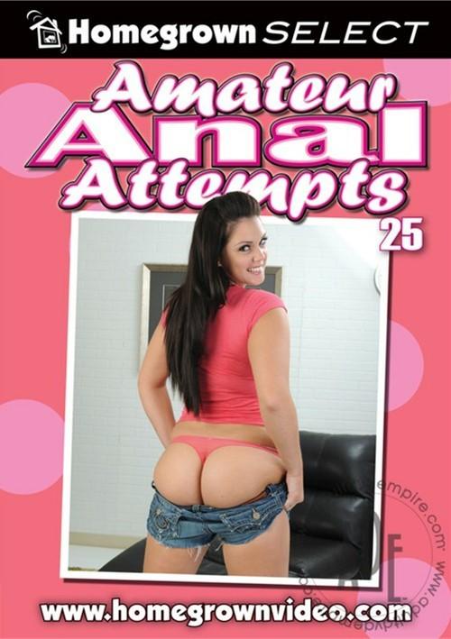 Amateur anal attempts