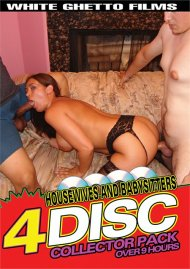 Housewives And Babysitters 4 Disc Collector Pack  Porn Movie