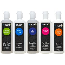 Mood: Pleasure For Him Gels - 5 Pack - 1 oz. ea. Sex Toy