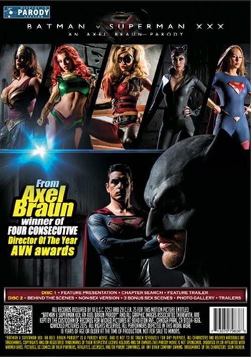 Wicked Pictures Presents Batman V. Superman XXX: An Axel Braun Parody