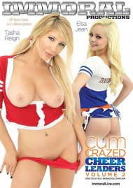 Watch Cum Crazed Cheerleaders Vol. 2 Porn Video from Immoral Productions!