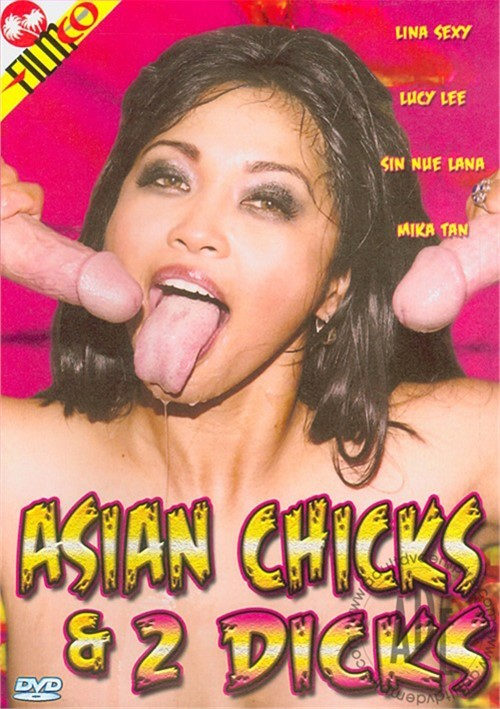 Asian Chicks & 2 Dicks