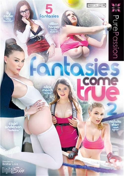 Fantasies Come True #2- On Sale! Danny Mountain Gonzo Lily Carter
