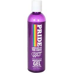 Pride Water Based Gel Lube - 8oz. Sex Toy