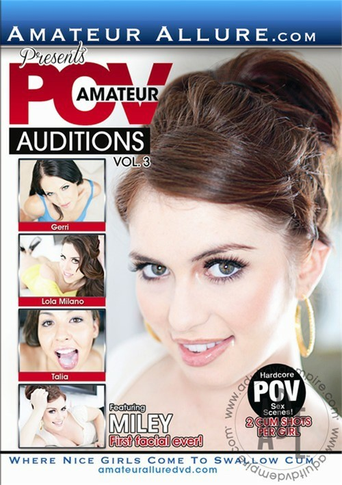 new dvd amateur pov auditions