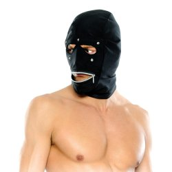 Fetish Fantasy Zipper Head Hood - Black Sex Toy