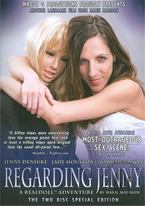 Regarding Jenny: 2-Disc Special Edition Jade Houston Maddy G Productions Marie Madison