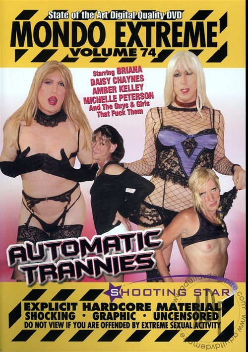 Mondo Extreme 74: Automatic Trannies Jerry (III) Transsexual Justine Baker
