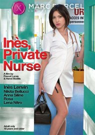 Ines, Private Nurse DVD Image from Marc Dorcel.