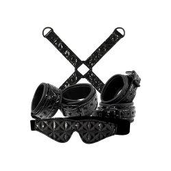 Sinful Bondage Kit - Black Sex Toy