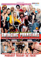 Swinging Pornstars: Randy Redheads & Pigtail Poontang Porn Video