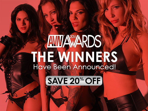 Save 20% on AVN-winning porn movies.