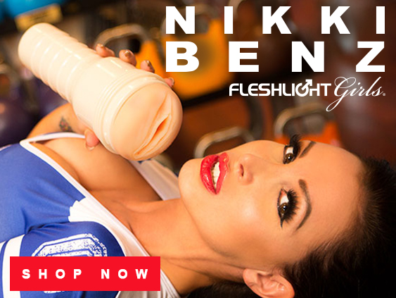 Buy Nikki Benz Fleshlight sex toy.