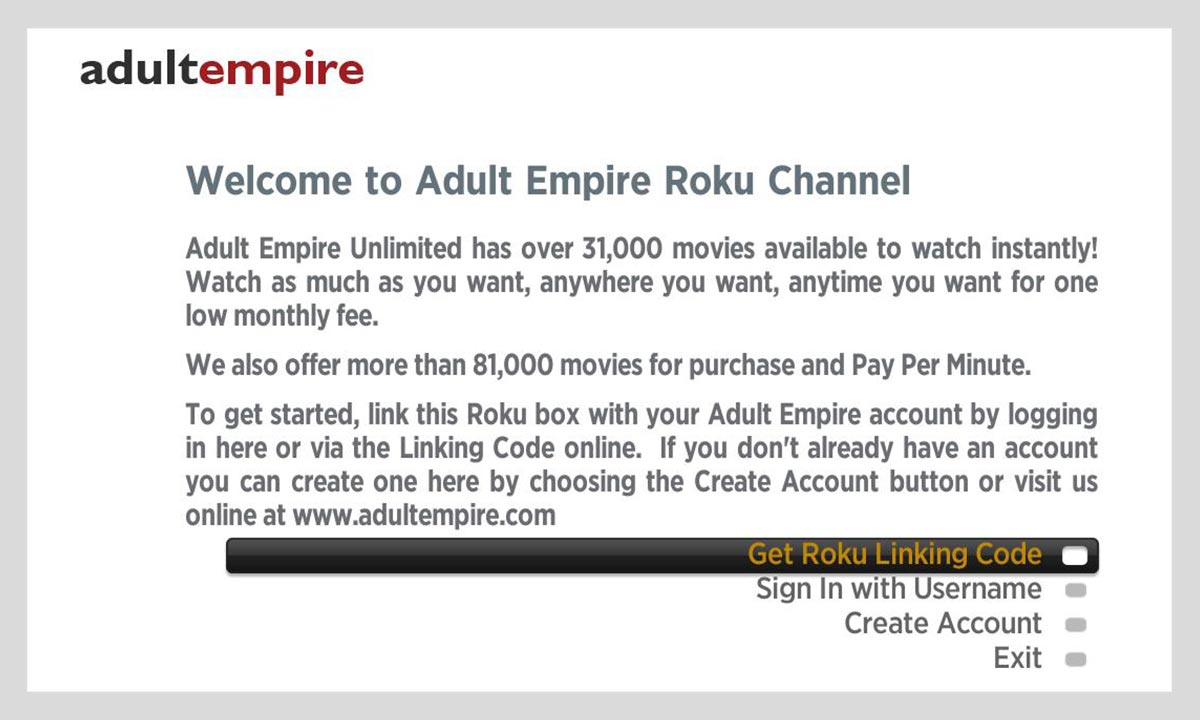 adult empire cancel account