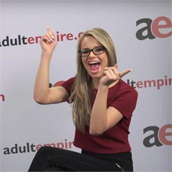 Pornstar Jillian Janson talks about lube.