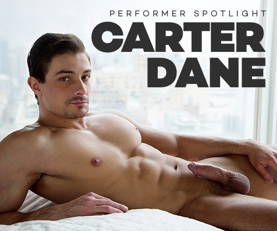 Browse movies starring gay pornstar Carter Dane.
