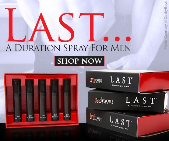 Last: A Duration Spray sex toy from Bedroom Products Inc.