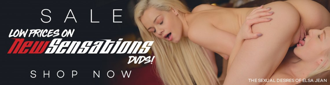 Save on porn DVDs from New Sensations & Digital Sin starring Elsa Jean and more.