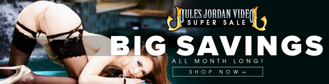 Save big on select Jules Jordan Video porn movies now.