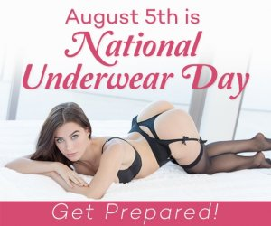 Buy Underwear for National Underwear Day.